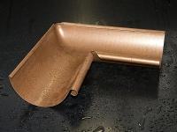 Угол желоба наружный произвольный 125 мм