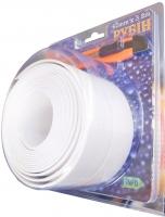 Белая самоклеящаяся зашитная лента - бордюр для ванной 62 мм * 3,2 м