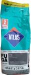 Затирка Atlas Extra (Elastyczna 136) 1-7мм 2кг серебристая