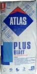 Высокоэластичный деформируемый белый клей для плитки Atlas Plus BIAŁY 25кг