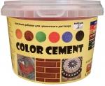 Краситель для цементного раствора Красный 0,5 кг