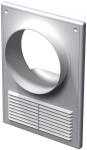 Кухонная вентиляционная решетка Vents ДВ 125 КВс
