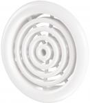 Вентиляционная решётка Vents МВ Ø 51/4 бВ белая
