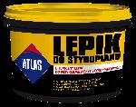 Клей и гидроизоляция для пенополистирола ATLAS 10 кг