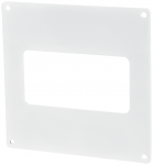 Пластина настенная для прямоугольных ПВХ каналов Vents 60х204