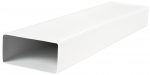Прямоугольный ПВХ канал Vents 60х204 мм, 1.5 м