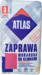Кладочная смесь с минералами для клинкера серая 035 Atlas Zaprawa Klinkieru