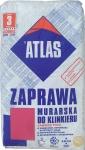 Смесь с минералами для кладки и затирки швов клинкера 037 графитовая Atlas Zaprawa Klinkieru