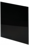 Панель Trax Чёрное глянцевое стекло Ø125