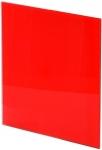 Панель Trax Красное глянцевое стекло Ø125