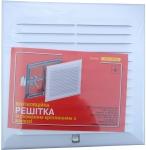 Вентиляционная решетка с жалюзи белая 15 х 15