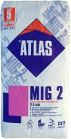 Быстросохнущий клей для плитки Atlas Mig 2, 25 кг