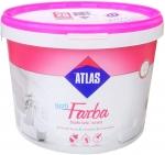 Латексная водоэмульсионная краска Atlas Opti Farba 10 л