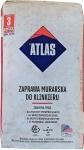 Строительная смесь Atlas с минералами цвет антрацит, 391 для кладки и расшивки клинкера 25 кг