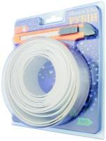 Белая самоклеящаяся зашитная лента - бордюр для ванной 38 мм * 3,2 м