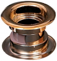 Дверная вентиляционная металлизированная решётка Awenta T14me