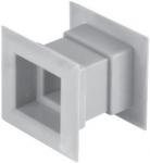 Квадратная дверная вентиляционная решётка Awenta TD 14e