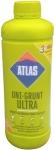 Укрепляющая грунтовка концентрат глубокого проникновения Atlas Uni - Grunt Ultra 1 кг