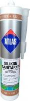 Санитарный цветной силикон Atlas Silton S - 123 светло-коричневый