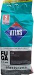Затирка Atlas Fuga (Elastyczna 036) 1-7мм 2кг тёмно-серая