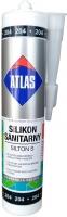Санитарный цветной силикон Atlas Silton S - 204 чёрный