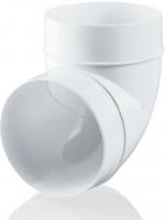 Колено 90° для круглых каналов Ø100 мм Ventika
