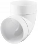 Колено 90° для круглых каналов Ø125 мм Vents