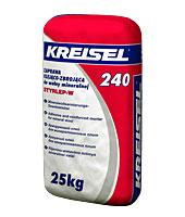 Смесь для приклеивания ваты и создания армирующего слоя Kreisel 240 25 кг.