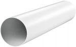 Круглый ПВХ канал Vents Ø125 мм, 0.5 м