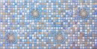 Мозаика Медальон Синий