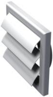 Решетка с гравитационными жалюзи Vents МВ 100 ВЖ