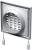 Решетка закрывающаяся Vents МВ 120 ВРс