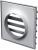 Решетка с гравитационными жалюзи Vents МВ 250/200 ВЖ