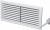 Вентиляционная решётка Vents МВ 80-1 белая