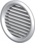 Вентиляционная решётка Vents МВ Ø 80/2 бВ металлик