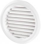 Вентиляционная решётка Vents МВ Ø 80/2 бВ белая