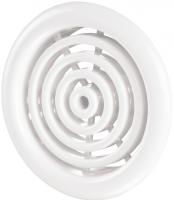 Вентиляционная решётка Vents МВ Ø 81/2 бВ белая