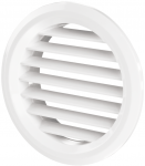Вентиляционная решётка Vents МВ Ø 50/4 бВ белая