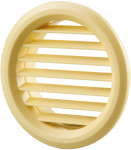 Вентиляционная решётка Vents МВ Ø 50/4 бВ бежевая