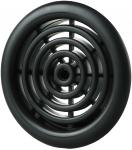 Вентиляционная решётка Vents МВ Ø 81/2 бВ чёрная