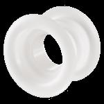 Вентиляционная решётка Vents МВ Ø 52 бВ белая