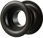 Вентиляционная решётка Vents МВ Ø 52 бВ чёрная