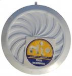 Вентиляционная решётка T 95 (Ø100) белая с жалюзи