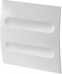 Белая пластиковая панель Metro 100 системы System+
