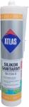 Санитарный цветной силикон Atlas Silton S - 213 мандариновый