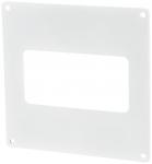 Пластина настенная для прямоугольных ПВХ каналов Vents 60х120 мм