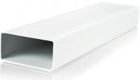 Плоский ПВХ канал Ventika 110х55 мм, 1.5 м