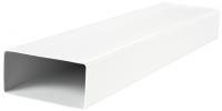 Прямоугольный ПВХ канал Vents 90х220 мм, 1.5 м