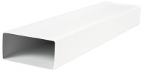 Прямоугольный ПВХ канал Vents 60х204 мм, 0.5 м