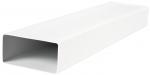 Прямоугольный ПВХ канал Vents 55х110 мм, 1.5 м